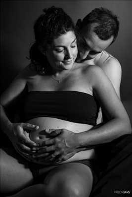 photo numérisée par le photographe Fabien à Ramonville-saint-agne : photo de grossesse