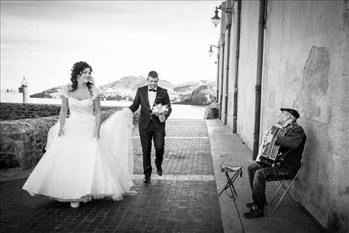 photo prise par le photographe Franck à Carcassonne : shooting mariage