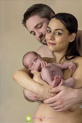 photo numérisée par le photographe Mickaelle à Étampes : shooting photo pour nouveau né à Étampes