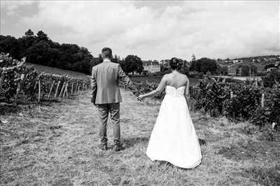 photo numérisée par le photographe Magaly à Bourg-en-bresse : photo de mariage