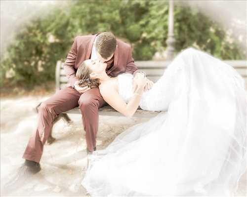 Shooting photo effectué par le photographe Patrick à Nîmes : shooting mariage