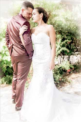 Shooting photo effectué par le photographe Patrick à Nîmes : photo de mariage