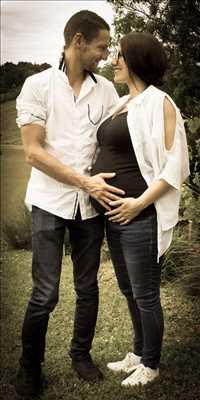 photographie de Dorothée à Rochefort : photographie de grossesse