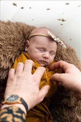 photo prise par le photographe Mathilde à Metz : photographie de nouveau né