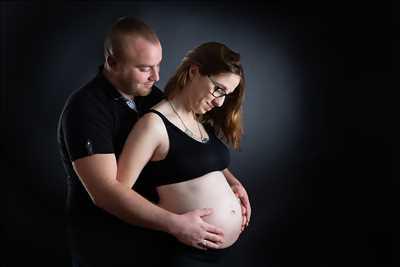 photographie de angélique à Vannes : photo de grossesse