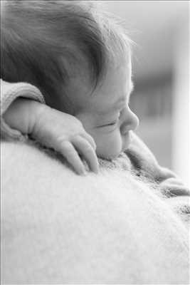 photo numérisée par le photographe François-Baptiste à Paris : shooting pour une naissance