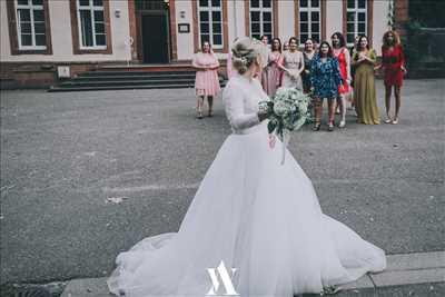 cliché proposé par Angélique à Strasbourg : shooting mariage