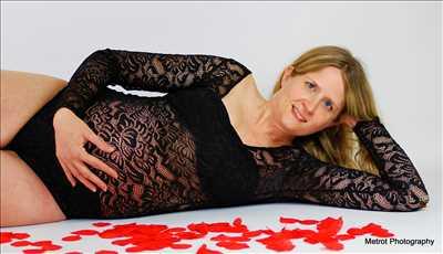 photo prise par le photographe Sabrina à Dijon : photographie de grossesse
