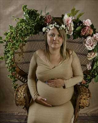 Shooting photo réalisé par laurence intervenant à Mulhouse : photographie de grossesse