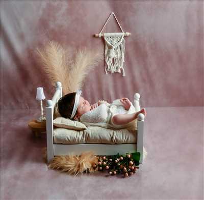 photo numérisée par le photographe laurence à Mulhouse : shooting pour une naissance
