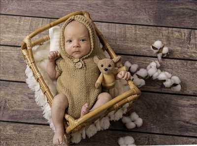 Shooting photo effectué par le photographe laurence à Mulhouse : photographe pour bébé à Mulhouse