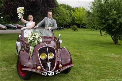 photo numérisée par le photographe Patrick à Chelles : photo de mariage