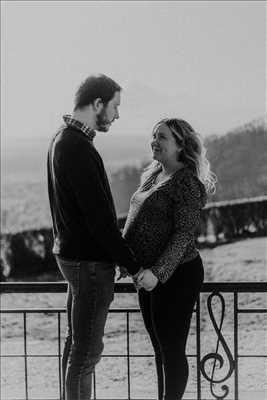 photo numérisée par le photographe Léa  à Reims : shooting grossesse