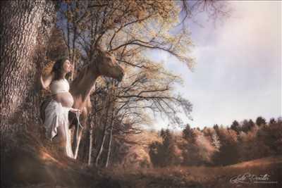 photo prise par le photographe Lydie à Bourgoin-jallieu : photographie de grossesse