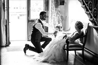 photo numérisée par le photographe Renaud à Lyon : photographie de mariage