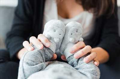 photo prise par le photographe Tiffany à Villeurbanne : photographe pour bébé à Villeurbanne