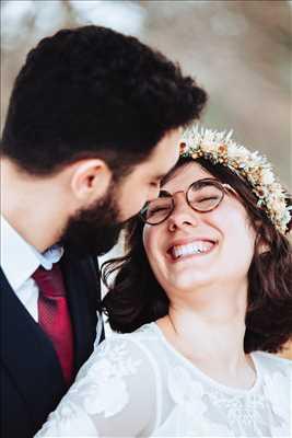 Shooting photo effectué par le photographe Tiffany à Villeurbanne : photographie de mariage