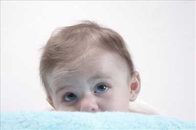 photo numérisée par le photographe Greg à Avignon : photo de naissance