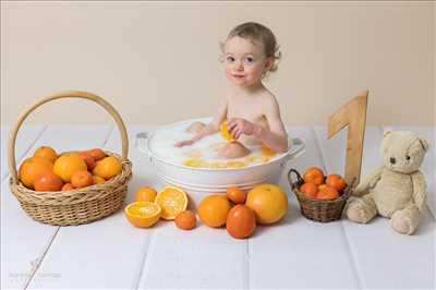 photo prise par le photographe Aurélie à Bourgoin-jallieu : photographie de nouveau né
