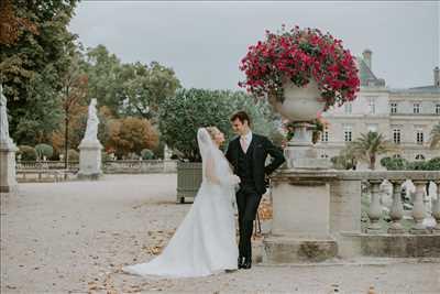 photo prise par le photographe PhilArty à Paris : photo de mariage