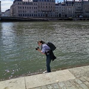 Shooting photo proximité de Saint-Etienne avec Margaux