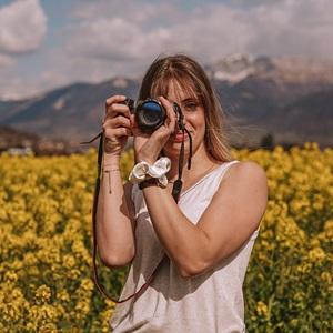 Shooting photo proximité de Grenoble avec Alexia