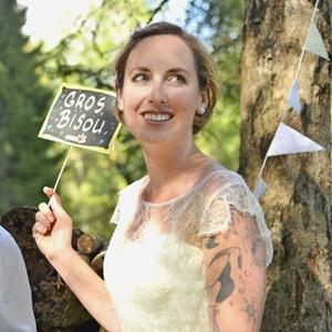 Photos de mariage à Chamonix-mont-blanc avec Marie l'Amuse